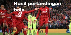 Hasil Pertandingan Bola Liga Champions