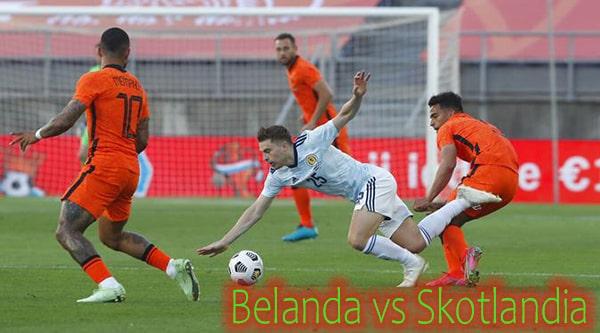 Hasil Pertandingan Belanda vs Skotlandia 2021
