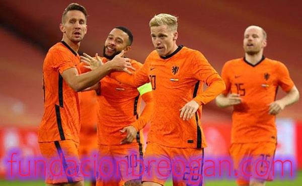 Pertandingan Uji Coba 2021 Belanda vs Skotlandia Skor 2-2
